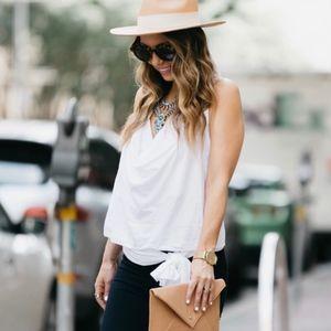 Hatattack Panama Continental stare woven hat